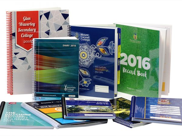 Range of 2016 Student Planners