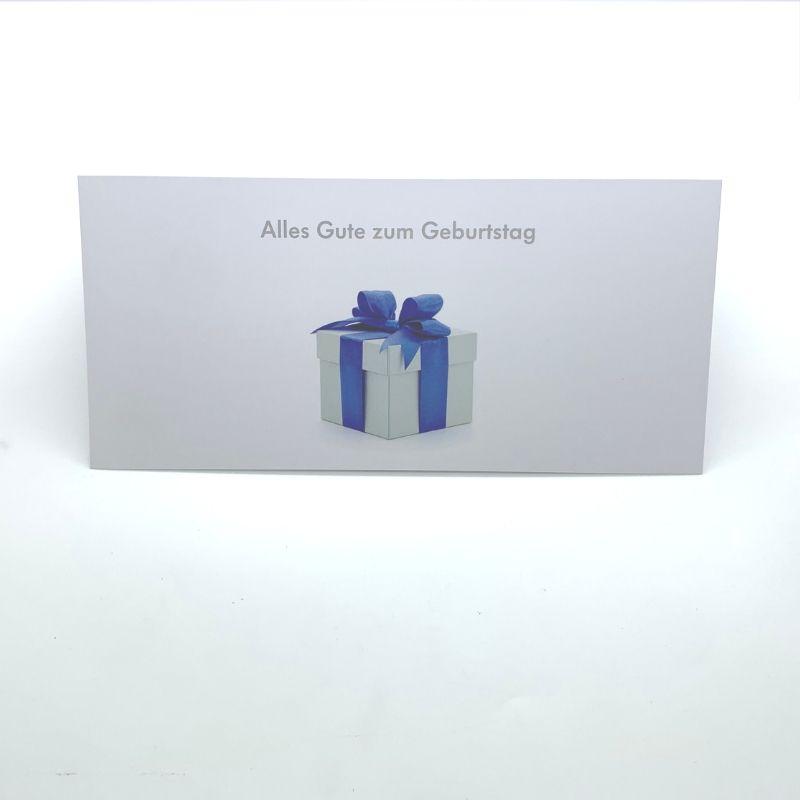 Printed Marketing Birthday Card