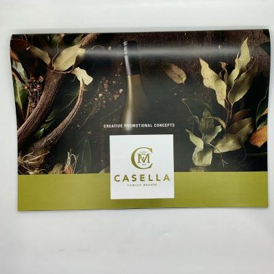 Custom Printed Catalogue Casella