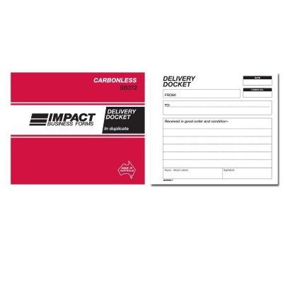 Delivery Docket Impact Forms