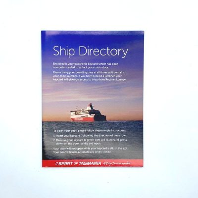 Custom Business Booklet Spirit of Tasmania