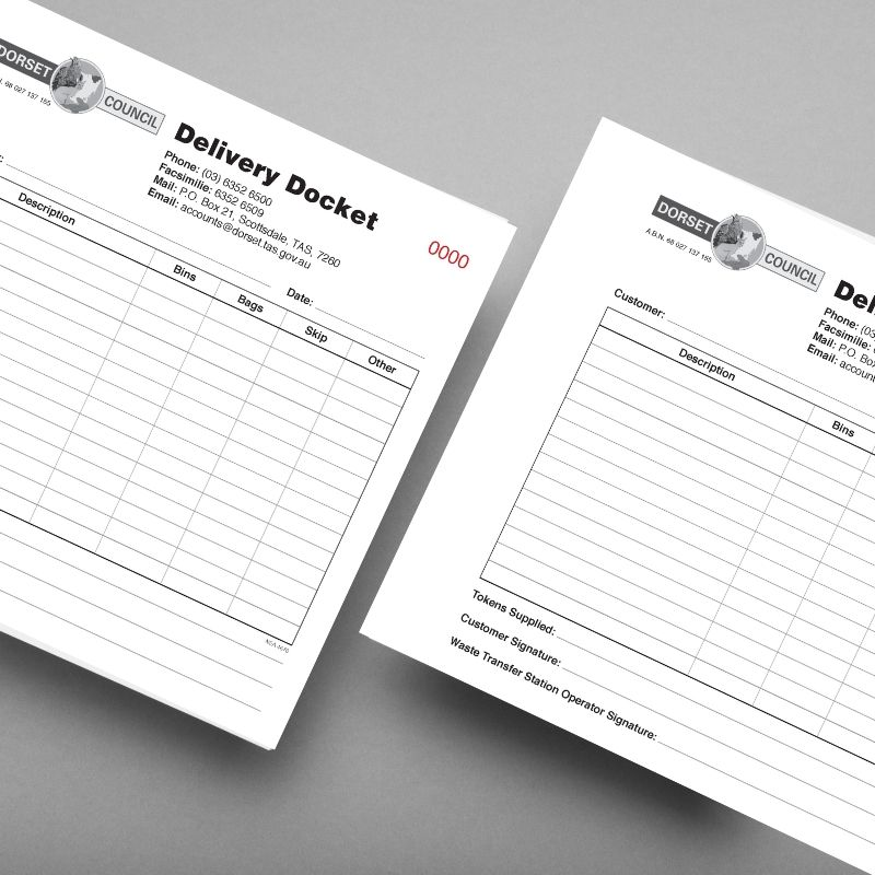Custom NCR Books
