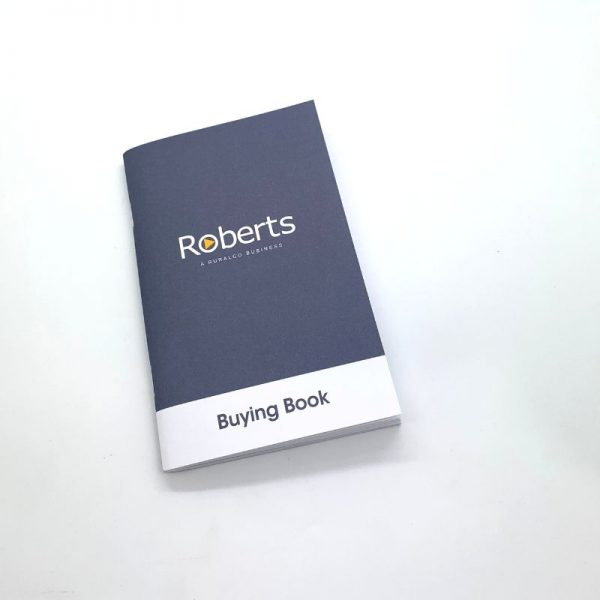 Printed Solutions for Events Roberts Printed Business Booklet