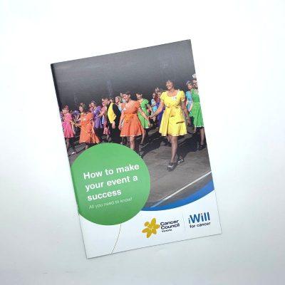 Cancer Council Victoria Brochure