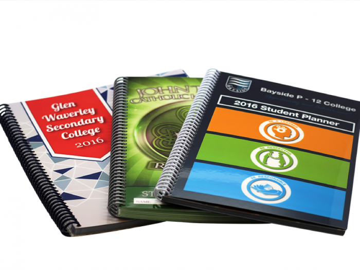 student planners, array of 3