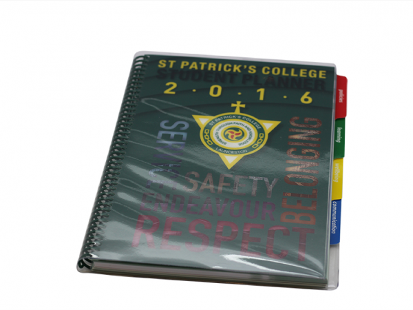 St Patricks College Student Planner Cover