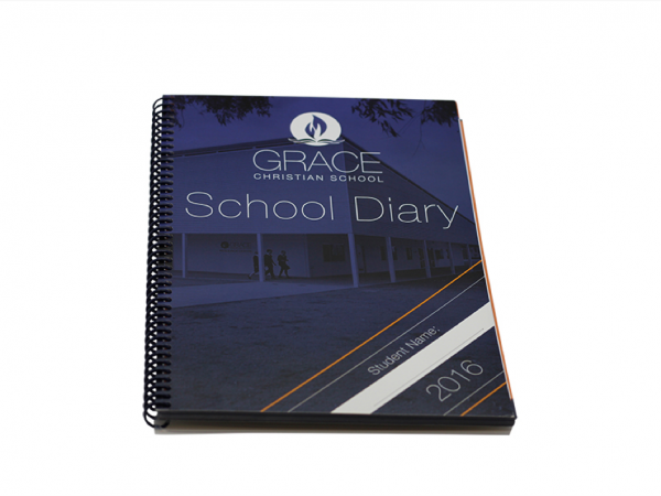 Grace Christian School Diary Cover