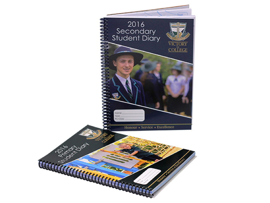 Victory College Primary and Secondary Student Diaries