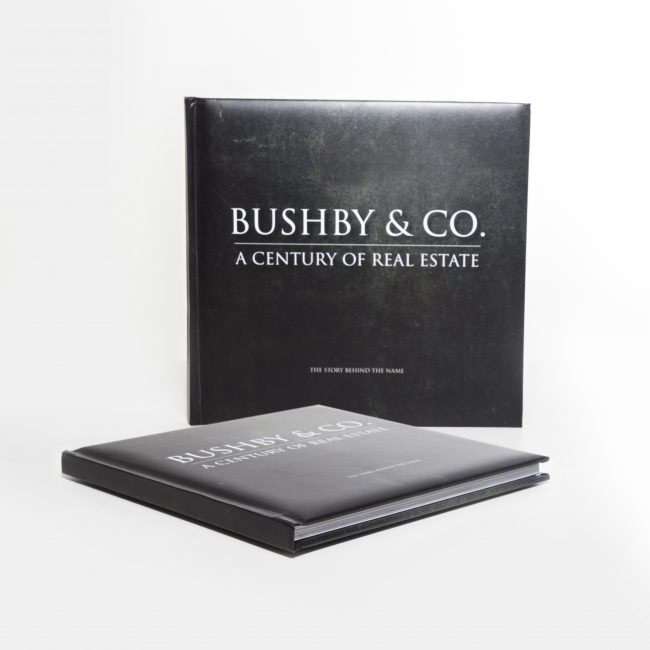 Bushby and Co Printed Business Booklet