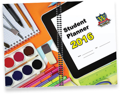 Standard Non-Customised Student Planner Cover