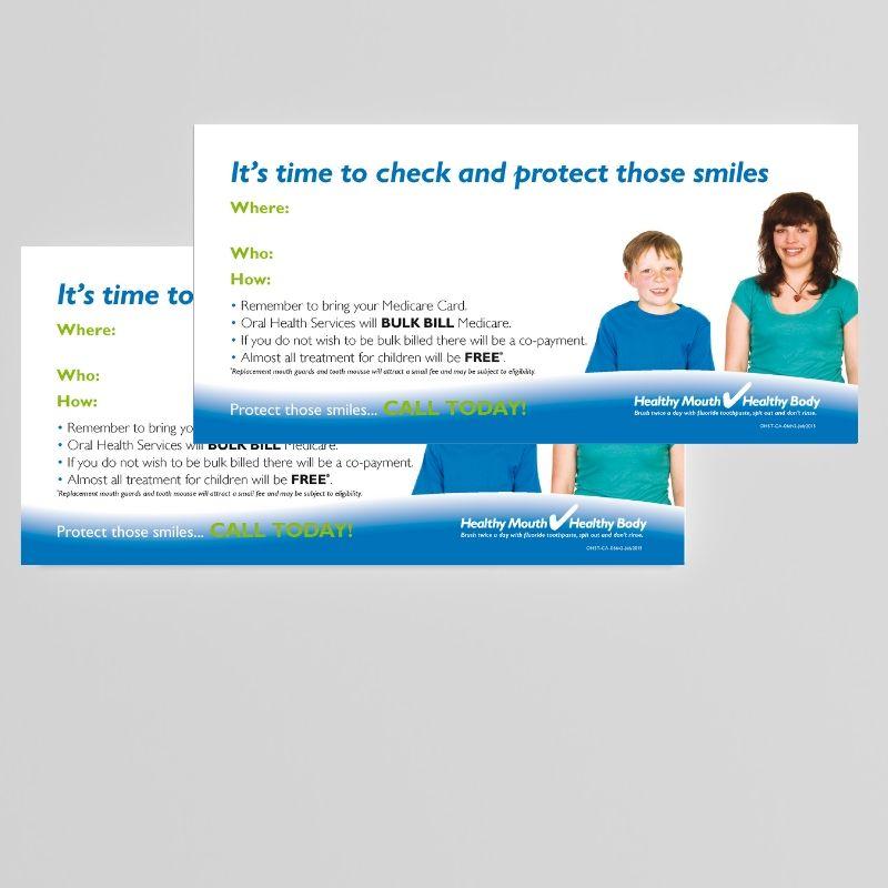 DL Postcard Government Campaign