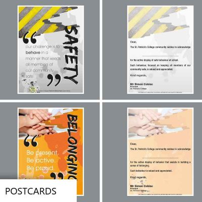 Information Postcards for schools