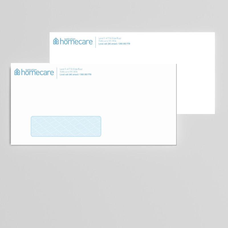 Business Window-Face Envelopes