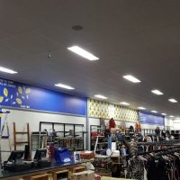 store fit out, wall clings