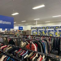 store fit out department signage, womens