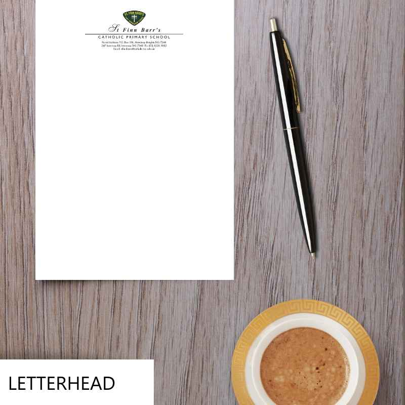 School Letterhead Education Stationery