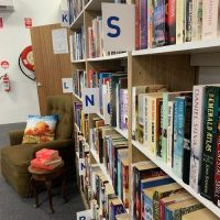 store fit out, library letter cards