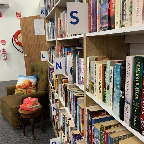 Bookshelf Letters