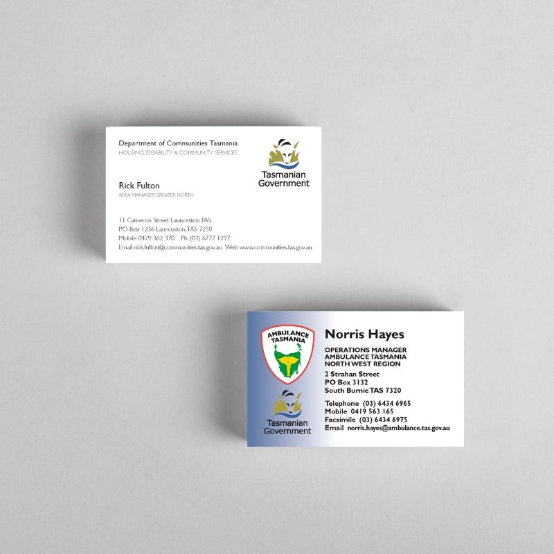Government Business Cards