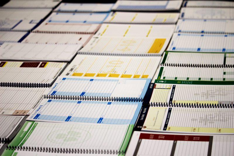 student planner custom inserts