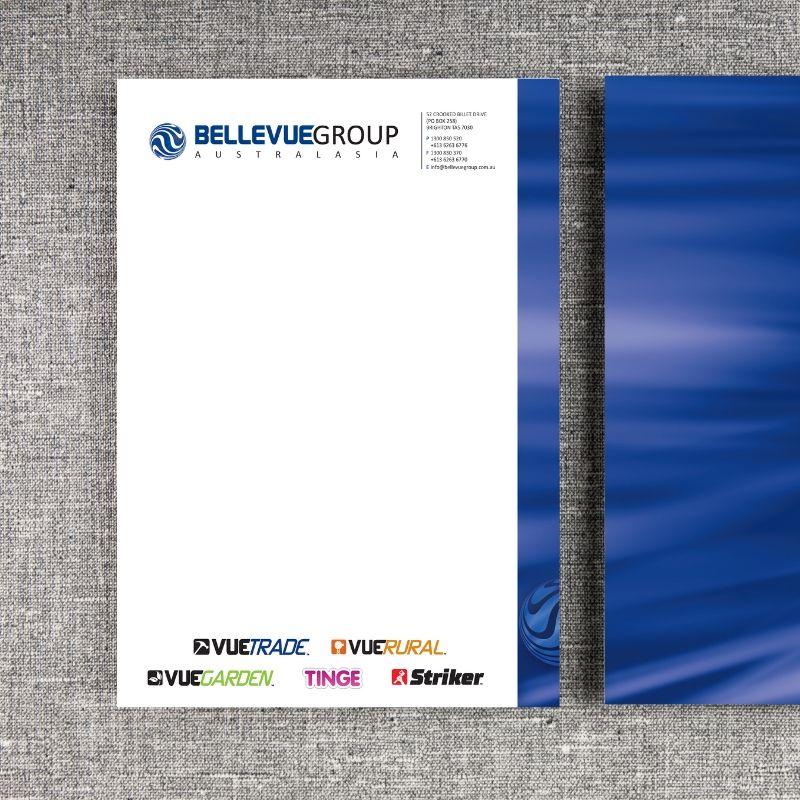 Custom Printed Business Stationary - Letterhead