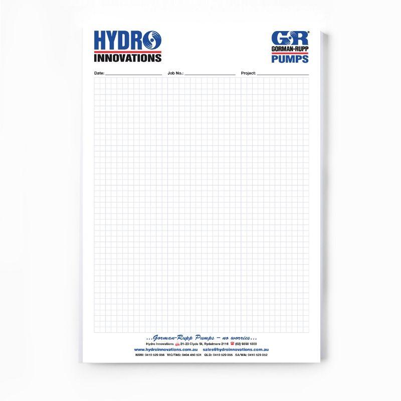 Custom Printed Graph Pad