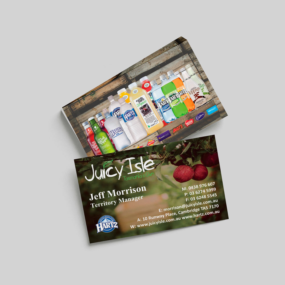 Juicy Isle Business Cards