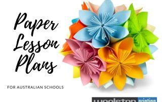 Paper Lesson Plans Title Image