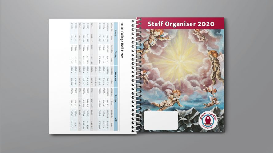 Custom Teacher Planners Staff Organiser Lumen Christie