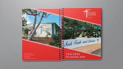 Custom Teacher Planners St Lukes