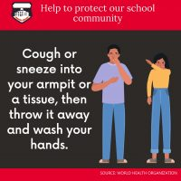 Covid Infection Control School Wall or Window Stickers