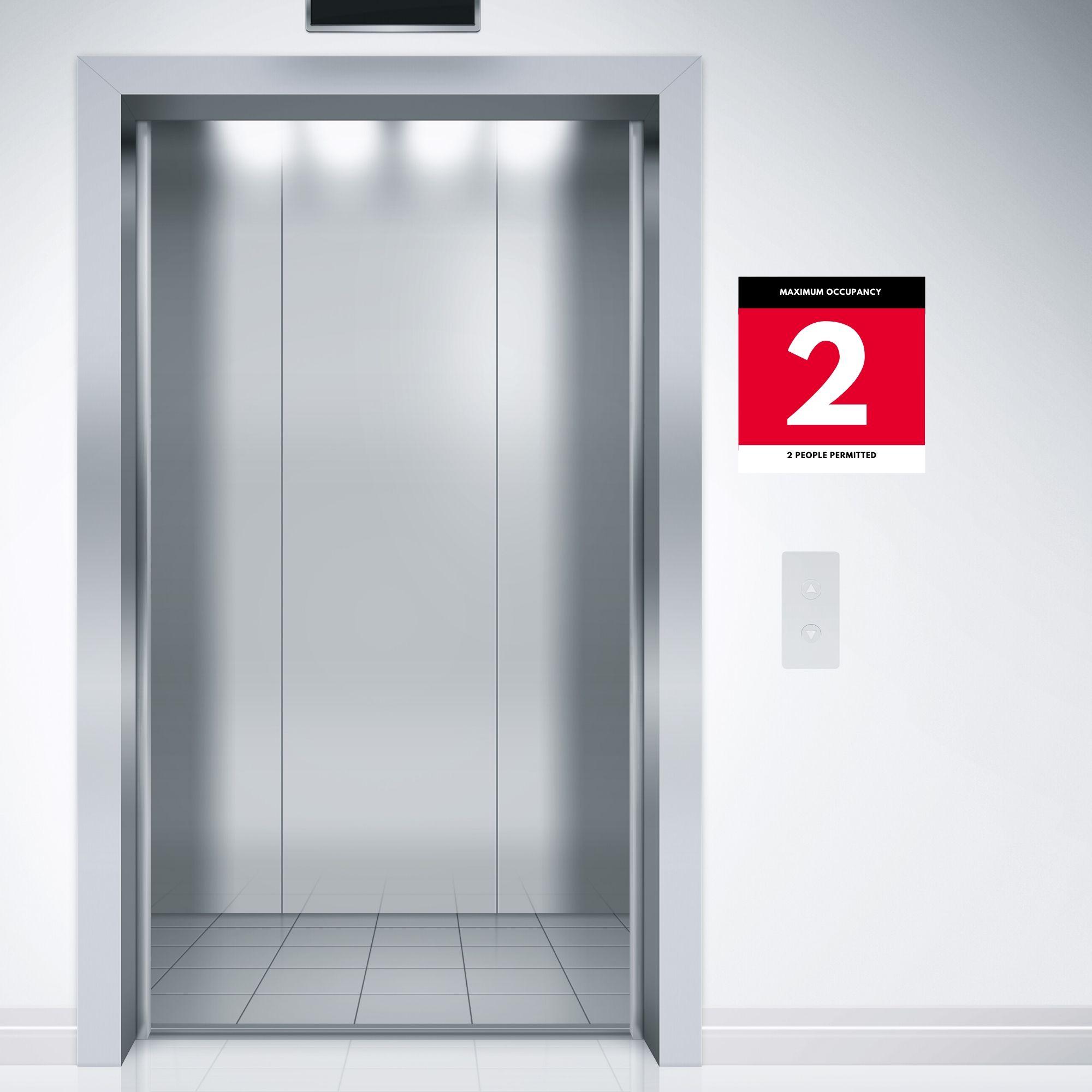 Maximum Occupancy Room Sign 2