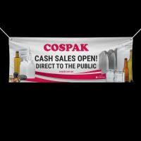 Cospak Canvas Banner business signage