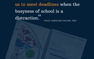 Student Planners 2022 Review Oxley Christian College