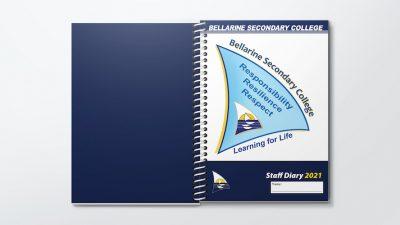Custom Teacher Planners Cover Bellarine