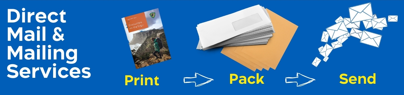 Design, Print and Mailing Service Process Image