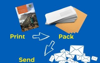 Design, Print and Mailing Service Process Image 2