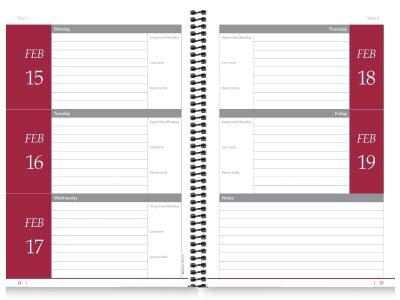School DiaryCalendar Inserts 6
