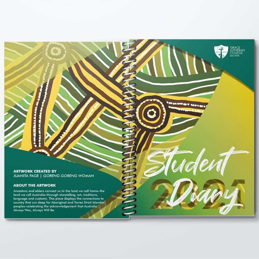 Student Diaries 2021 Grace Lutheran College