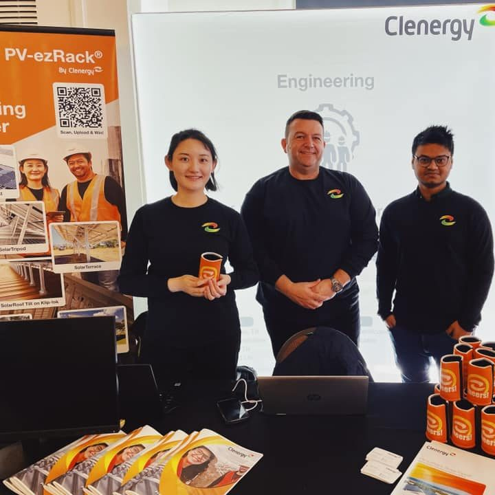 Clenergy Event Stand & Pull Up Banner