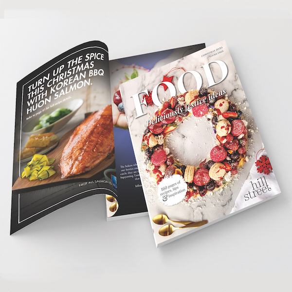 Printed Brochures and Booklets Perfect Bound Brochure Magazine