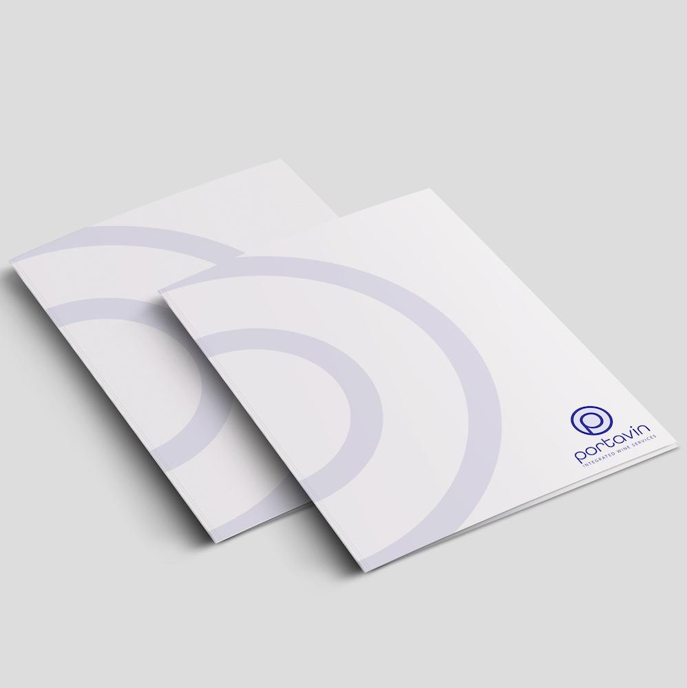 Custom Business Stationery Portavin - Presentation Folder1