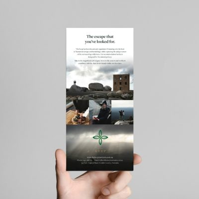 Printed Brochures and Booklets The Keep DL Flyer