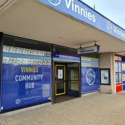 Vinnies Shop Signage