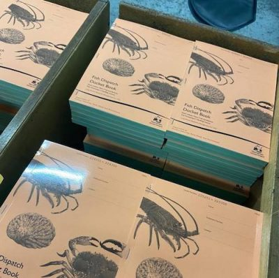 Fish Dispatch Docket Book