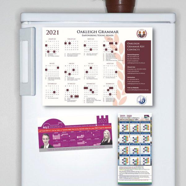 Custom Calendars for the fridge