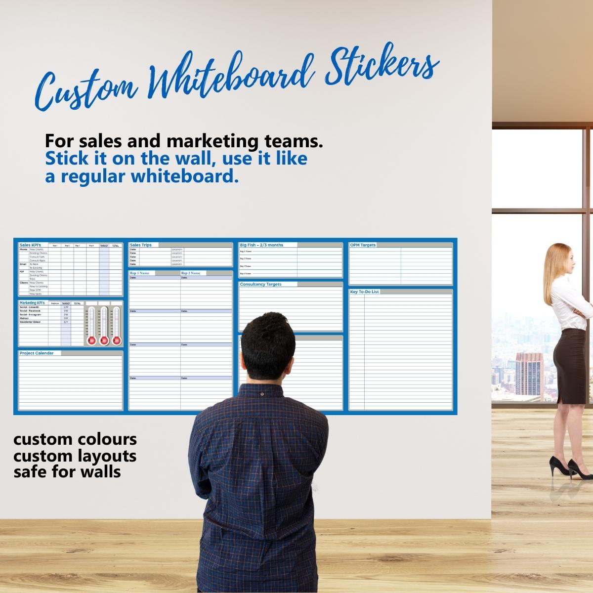 Custom Whiteboard Stickers