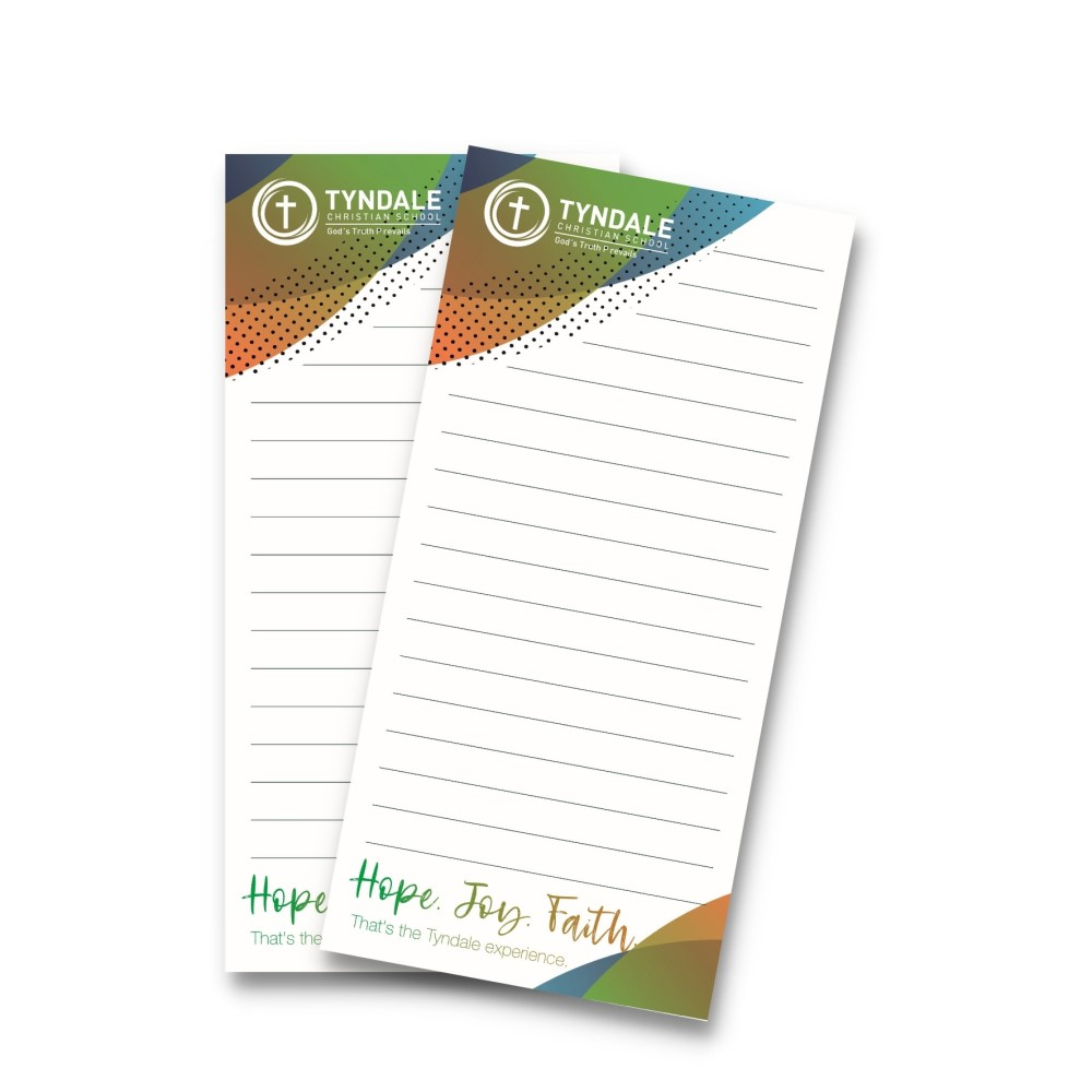 Notepads for schools