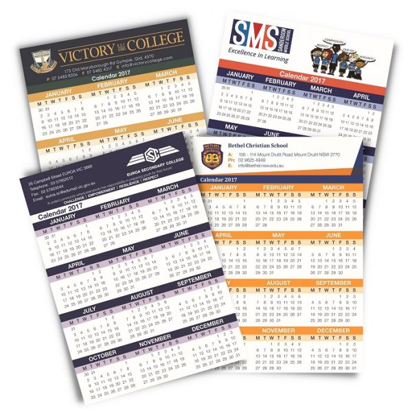 School Calendars Fridge Magnet