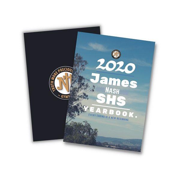 Senior High School Yearbook James Nash SHS